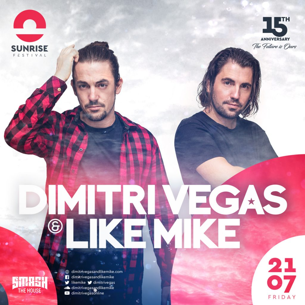 Radio Internetowe RadioTP - Sunrise Festival 2017 - Dmitri Vegas and Like Mike